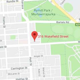 Map for Wakefield Surgicentre